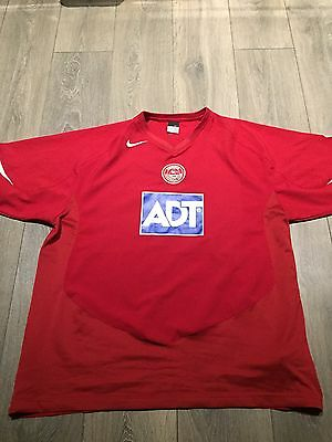 Aberdeen Home Shirt 2005/06 X-Large Rare And Vintage