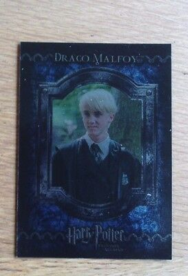 Harry Potter Trading Card Game 2001 F12 Draco Malfoy
