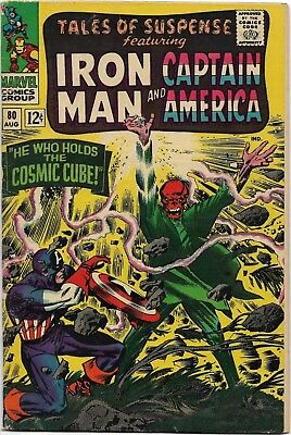Tales of Suspense #80 (Aug 1966, Marvel) --FINE- -- SEE SCANS