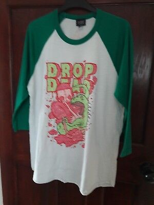 Drop Dead Robot Vs Dinosaur Long Sleeve
