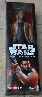 "John Boyega Signed Star Wars 12"" Doll The Force Awakens"