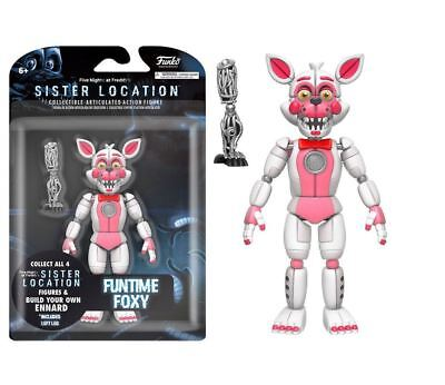 Funko Funko FNAF Sister Location: Funtime Foxy - Collectible Articulated NEW
