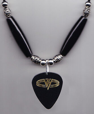 Eddie Van Halen Signature Black 5150 Studio Guitar Pick Necklace - 2003