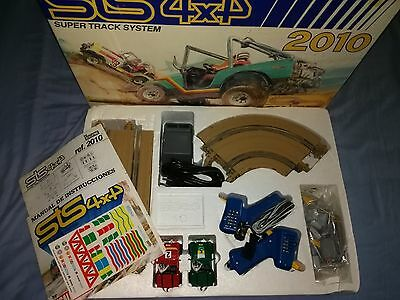 Circuito STS 4X4 2010 Jeep Scalextric Exin Slot 1/43 Made in Spain 1988 Nuevo