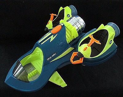 """PLANET HEROES Electronic Turbo Shuttle 16"""" Sounds Lights Space Ship 2007"""