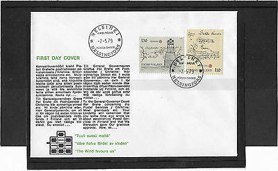 Germany 1979 Europa Set Illustrated Un-Addressed First Day Cover