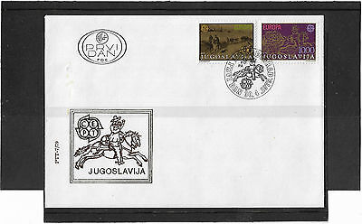 Yugoslavia 1979 Europa Set Illustrated Un-Addressed First Day Cover