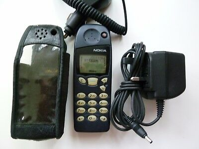 Vintage Nokia 5110 With Car/mains Charger,leather Case 02 Network