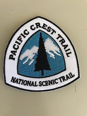 Pacific Crest Trail map patch sticker