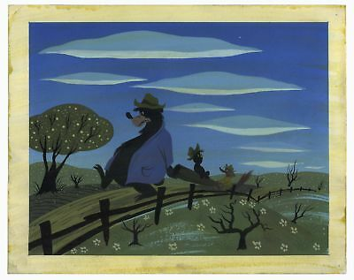 Mary Blair Disney Song of the South Concept Painting