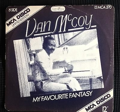 VAN McCOY-MY FAVOURITE FANTASY-YOU'RE SO RIGHT FOR ME -1978-EX+ MAXI DISC