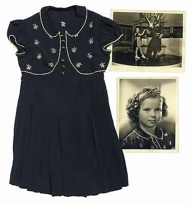 Shirley Temple Worn Tap-Dancing Dress ''Around Corner''