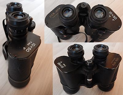 Binocolo STEIN OPTIK high quality 10x50 Field 5° - Vintage