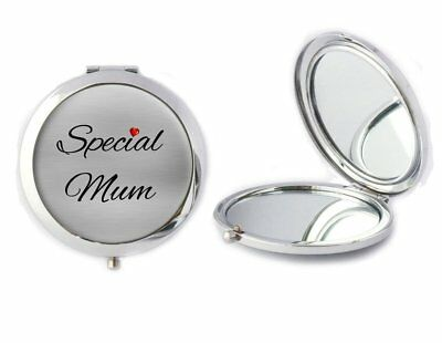 Special Mum Metal Compact Mirror Ideal Birthday Valentines Gift T129