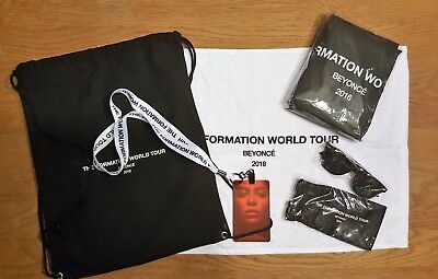 Beyonce Vip Swag Bag Package Pass Formation Tour