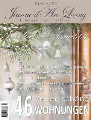 Reservierung Jeanne d'Arc Living Magazin 11 2017 Shabby Chic November Vintage