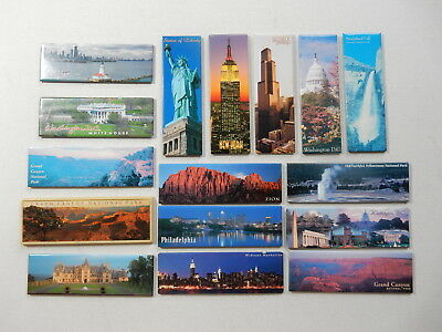 One Selected Souvenir Fridge Magnet from the USA / incl panoramic