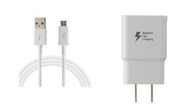 Fast Adaptive Rapid Wall Charger For Samsung Galaxy S7 Edge, S6, Note 4 Note 5