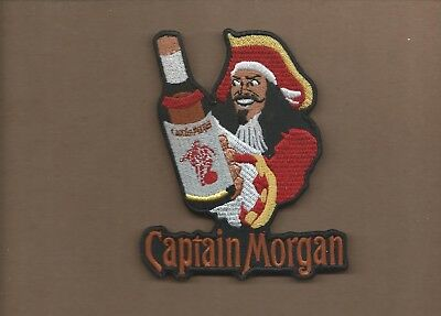 New 4 X 5 Inch Captain Morgan Iron On Patch Free Shipping