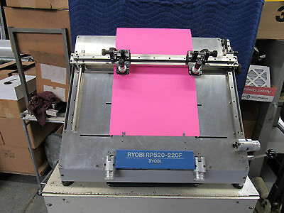 Ryobi RP520-220 Plate Notching Register Optical Punch for 3302, 3304, 3985, 9985