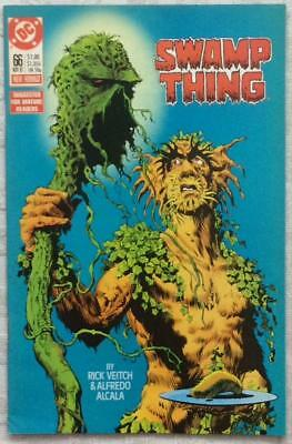 Swamp Thing #66 (DC 1987) FN+ condition