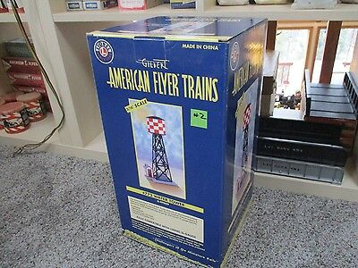 Lionel American Flyer 6-49809 772 Checkerboard water tower New In Box  (#2)