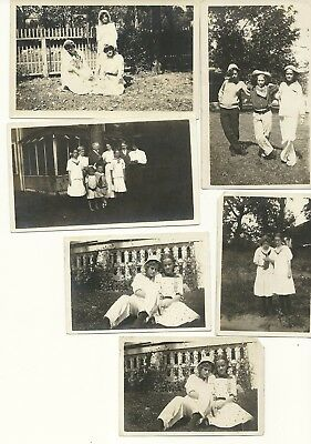 """Vintage 1920's Photograph Lot of Six """"Sisters"""""""