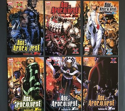 Age of Apocalypse featuring the X-Men #1-6 Complete Set Marvel 2005 NM/M 9.8