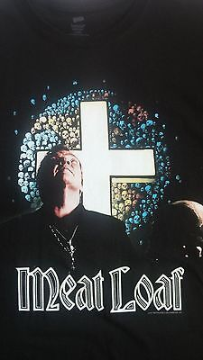 MEAT LOAF MAD MAD WOLD TOUR 2012 CONCERT T-SHIRT Medium / Large Michael Lee Aday
