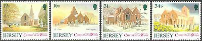 Jersey #467-470 Complete Mint Never Hinged Set of 4 Christmas 1988