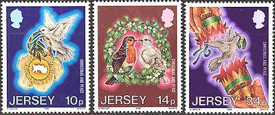 Jersey #411-413 Complete Mint Never Hinged Set of 3 Christmas 1986