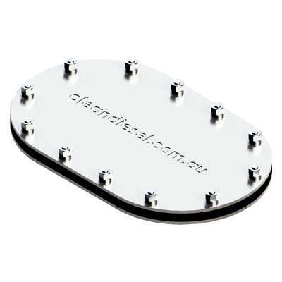 Tank Access Plate Inspection Port 316 Stainless