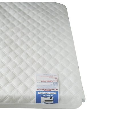 Baby Travel Cot Mattress QUILTED fits most Graco/M&P Cots, Breathable 95x65x5cm