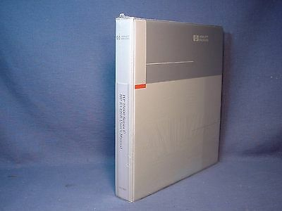 NEW SHRINK WRAPPED HP 75000 Series C E1445A Arbitrary Function Generator Manual