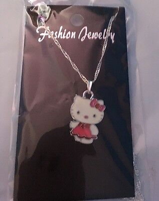Hello Kitty  Necklace Child's , Pink Dress