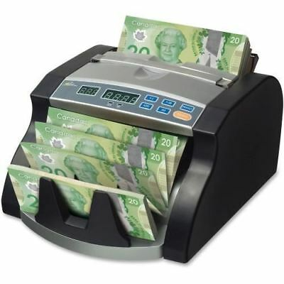 Royal Sovereign Paper/Poly Electric Bill Counter Counts 1000 bills/min RBC1200CA