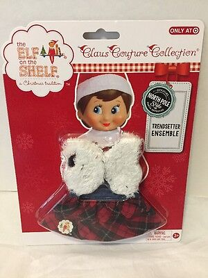 Elf On The Shelf Claus Couture Clothes Trendsetter Skirt Vest NEW Free Shipping