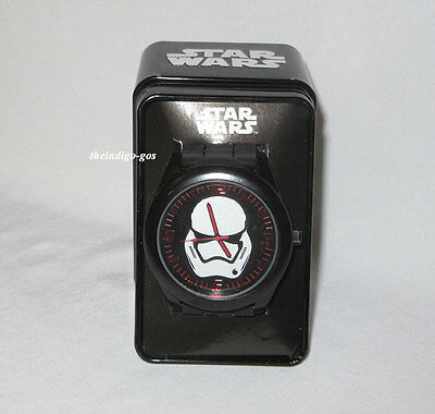 New Star Wars Stormtrooper Analog Watch with Tin Collectible Gift