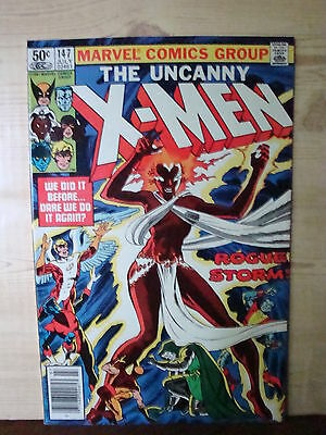 The Uncanny X-Men #147 (Jul 1981, Marvel) 9.2 NM- Near Mint-
