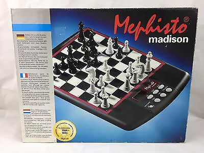 Mephisto Madison - Computer Chess Board by Hegener and Glaser - Like New -