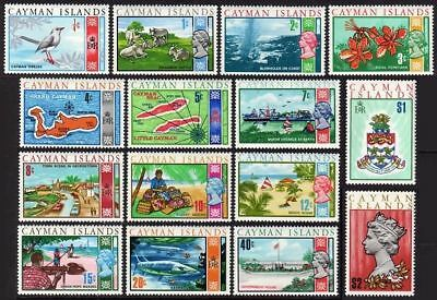 Cayman 262-276,MNH.Michel 261-275. QE II:1970.Cattle,Vessel,Barracudas,Arms,