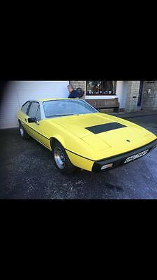 Lotus eclat body off resto in 2010 good condition ,needs a little fettlng