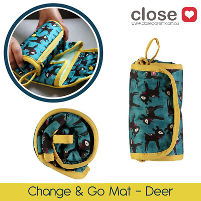 Close Pop-In Change and Go Mats for Quick & Easy Nappy Changes