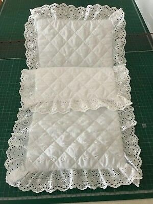 Dolls Pram Covers Or Sets Ideal Silver Cross And All Other Makes Of Dolls Prams