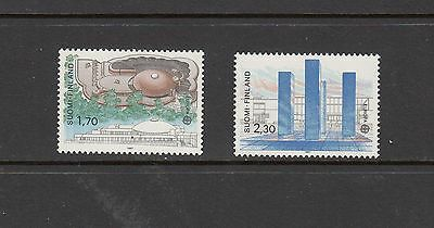 ARCHITECTURE/EUROPA - Finland   - 1987  set of 2 (SC 756-7) --MNH-B987