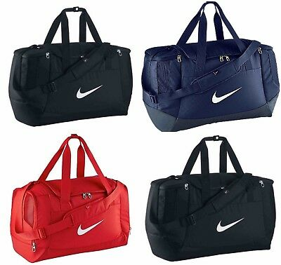 Nike Mens Club Team Swoosh Duffel Bag Sports Travel Duffle Kit Gym Medium