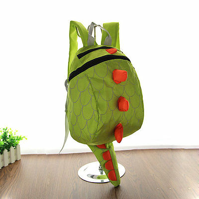 Dinosaur Backpack Dragon Waterproof School Bag Boy Girl Cartoon Kindergarten PS