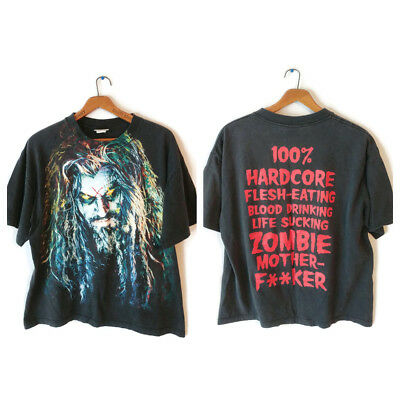ROB ZOMBIE Vtg Shirt size XL Concert Tour1998 HELLBILLY DELUXE Mother F**ker