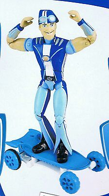 Lazy Town - Sportacus Figure and Skateboard with Pull Back Motor