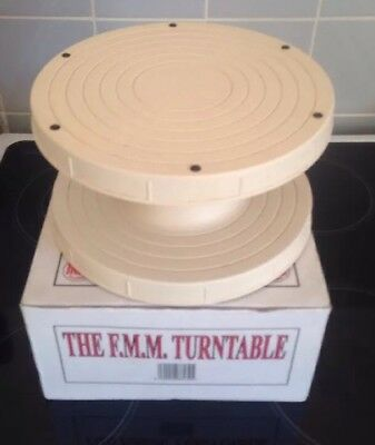 FMM Traditional Turntable Cake Stand Decorating Fondant Icing Design Display